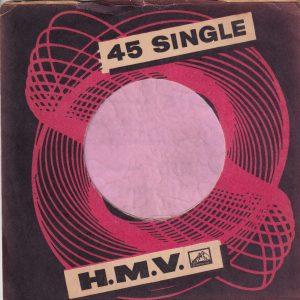 HMV His Masters Voice Norway Company Sleeve 1959 – 1962