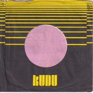 Kudu Records U.S.A. White Paper Company Sleeve 1971 – 1977