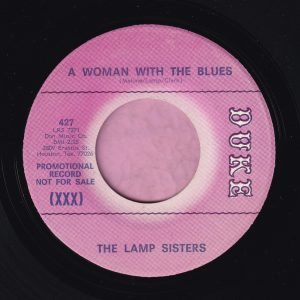 """The Lamp Sisters """" A Woman With The Blues """" Duke Demo Vg+"""