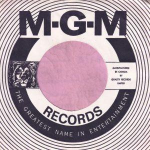 MGM Records Canadian Company Sleeve