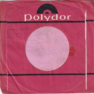 Polydor U.K. Matt Paper Company Sleeve 1967 – 1970