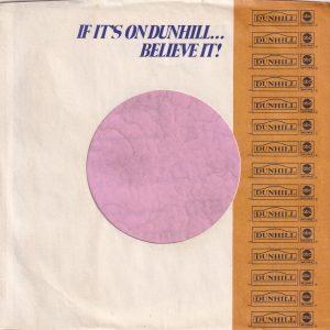 ABC Dunhill Records U.S.A. No Address Details Company Sleeve 1968 – 1970