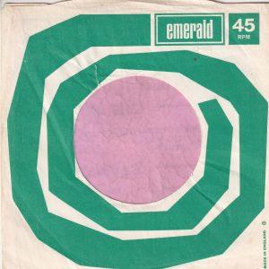Emerald U.K. Company Sleeve 1970 – 1978