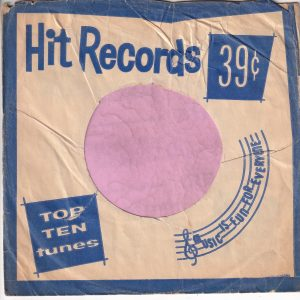 Hit Records U.S.A. Blue Company Sleeve 1962 – 1969