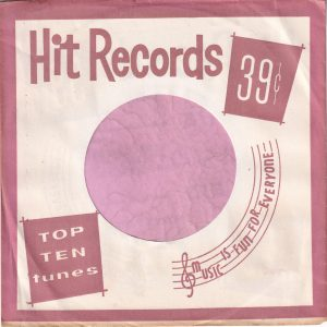 Hit Records U.S.A. Brown Company Sleeve 1962 – 1969