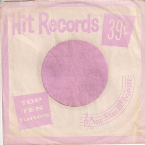 Hit Records U.S.A. Pink Company Sleeve 1962 – 1969