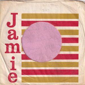 Jamie Records U.S.A. Details Printed On Back Company Sleeve 1959 – 1968