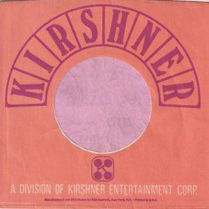 Kirshner Records U.S.A. Company Sleeve 1969 – 1972