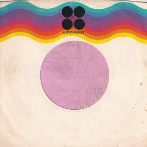 Kirshner Records U.S.A. Company Sleeve 1974 – 1980