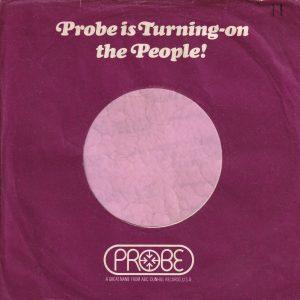 Probe U.K. Company Sleeve 1971 – 1973