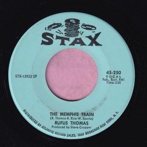 "Rufus Thomas "" The Memphis Train "" Stax Vg+"
