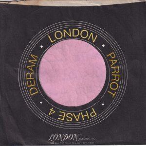 London Parrot Phase 4 Deram U.S.A. Black And Orange Print Company Sleeve 1972 – 1976