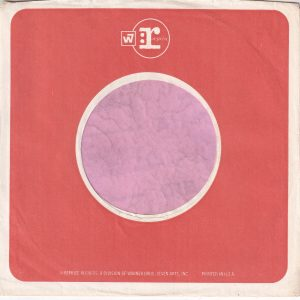 Reprise Records U.S.A. Both Sides The Same Size Company Sleeve 1968 – 1970