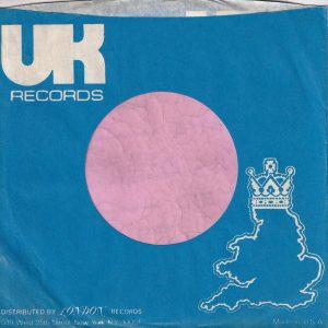 UK Records U.S.A. Company Sleeve 1972 – 1974