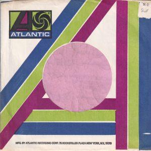 Atlantic U.S.A. Rockefeller Address Blue Green And Deep Purple Company Sleeve 1973 – 1978