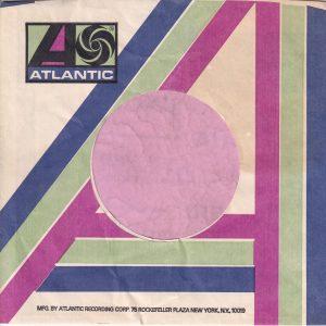 Atlantic U.S.A. Rockefeller Address Blue Green And Purple Company Sleeve 1973 – 1978