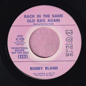 "Bobby Bland "" Back In The Same Old Bag "" Duke Demo Vg+"