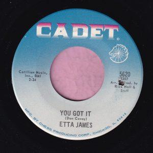 """Etta James """" You Got It """" Cadet Vg+"""