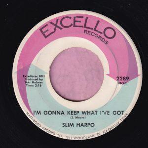 """Slim Harpo """" I'm Gonna Keep What I Got """" Excello Vg+"""