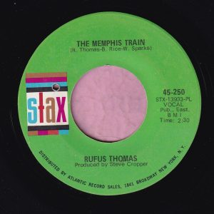 "Rufus Thomas "" The Memphis Train "" Stax ( Green Label Design ) Vg+"
