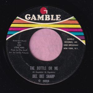 "Dee Dee Sharp "" The Bottle Or Me "" Gamble Vg"
